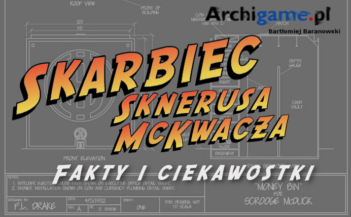 Skarbiec Sknerusa McKwacza – fakty i ciekawostki