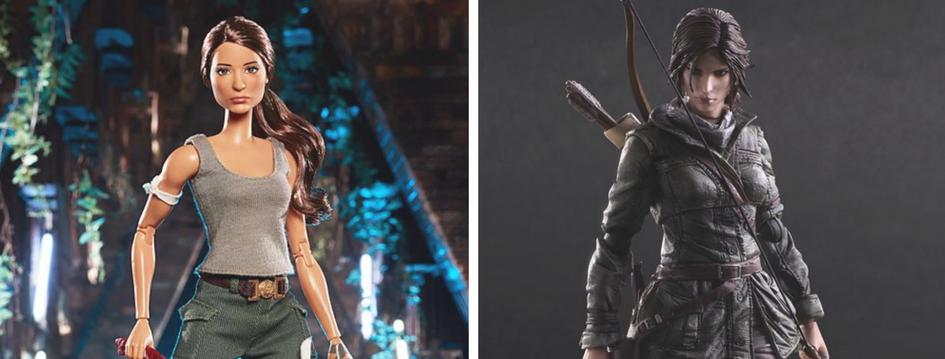 Lara Croft jako lalka Barbie – zabawki mają płeć (Tomb Raider)