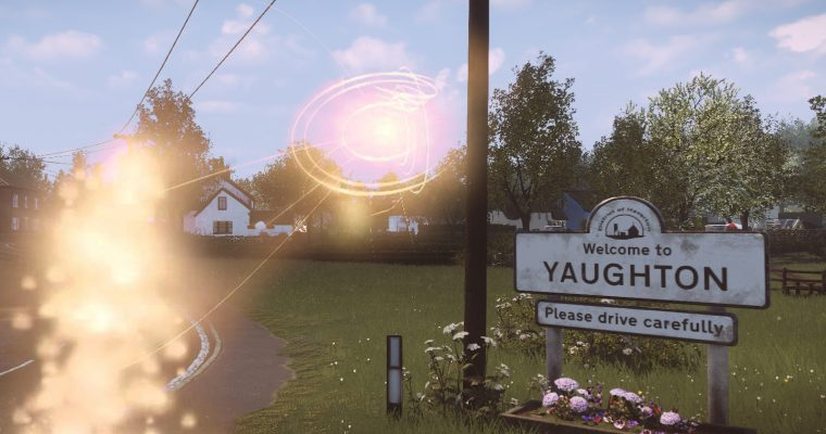 Architektura w Everybody's Gone to the Rapture – architektura five o'clock