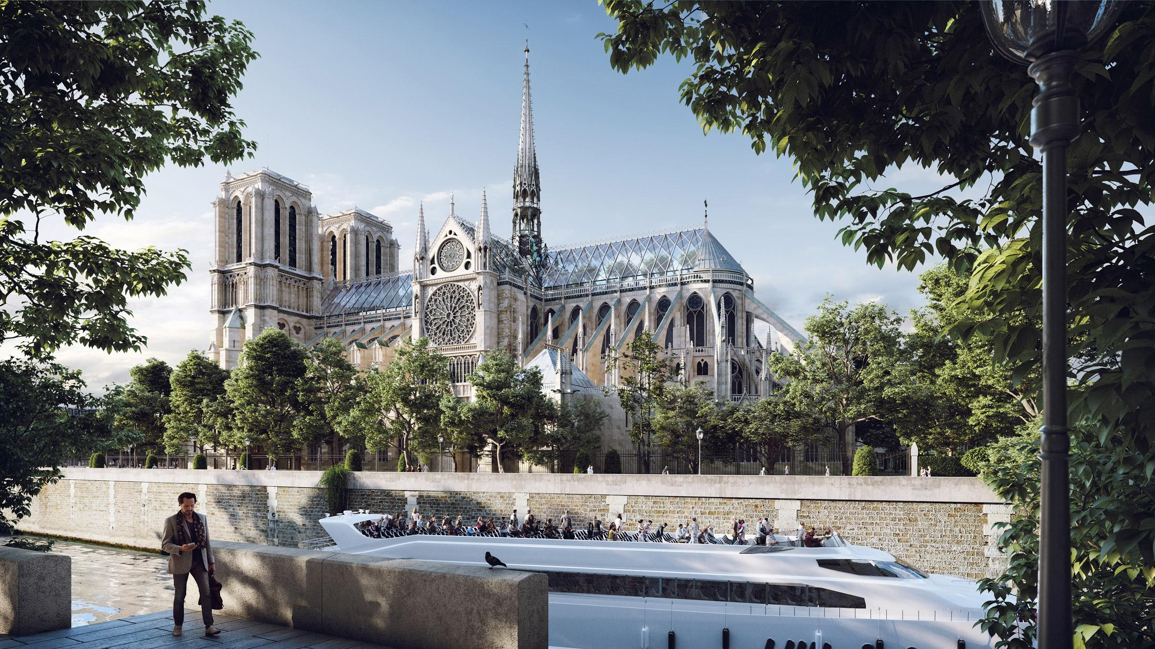 Odbudowa katedry Notre Dame – idee rodem z Final Fantasy