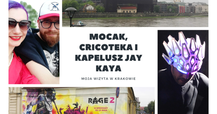 MOCAK, Cricoteka i kapelusz Jay Kaya z Jamiroquai – wizyta w Krakowie