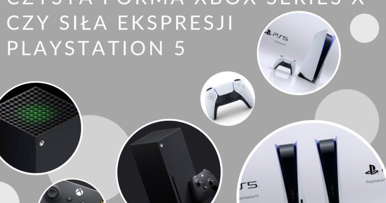 Playstation 5 kontra Xbox Series X – która jest ładniejsza