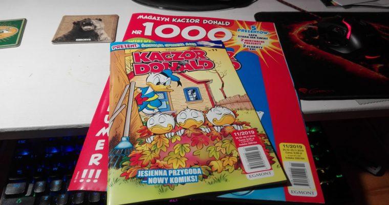 Tysięczny numer komiksu Kaczor Donald – moja przygoda z komiksami