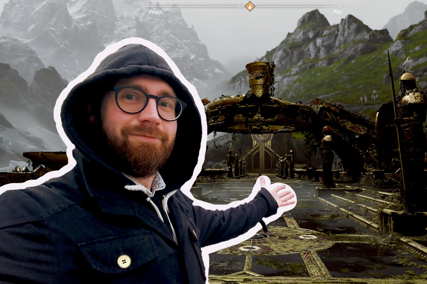 Kratos buduje domek i zwiedza Mildgard. Architektura w God of War