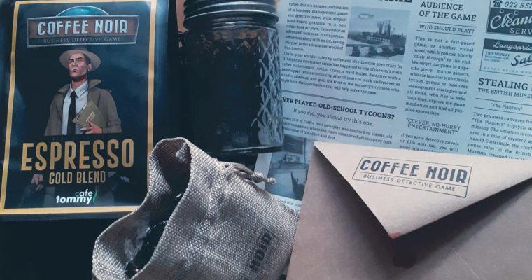 Retrokawowy świat – wywiad z twórcami Coffee Noir